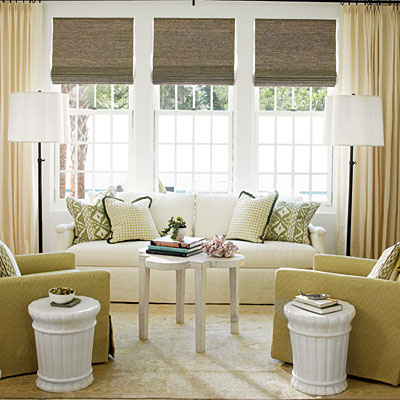 Coastal living s ultimate beach house 2012 tuvalu home for Beach house window treatments