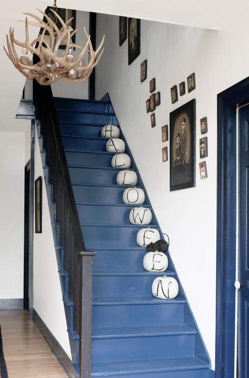 Painting pumpkins tuvalu home - How to decorate a staircase ...