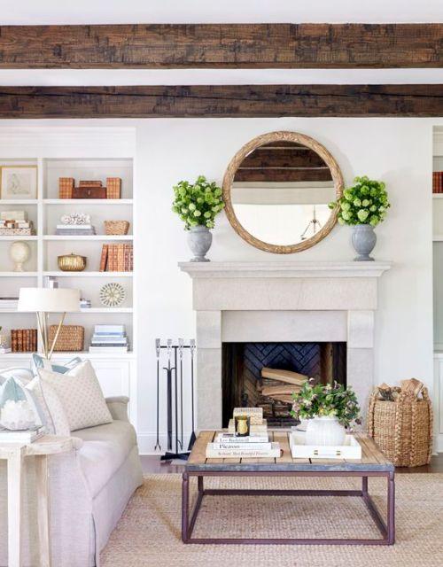 Cozy coastal family room